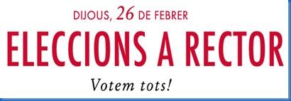 elecciones rector
