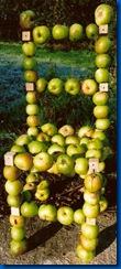 silla manzana