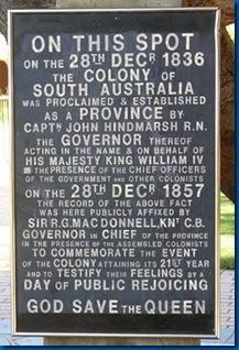 proclamation day south australia spot