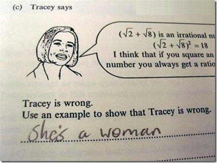 profesora equivocada