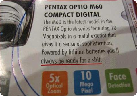 pentax baterías