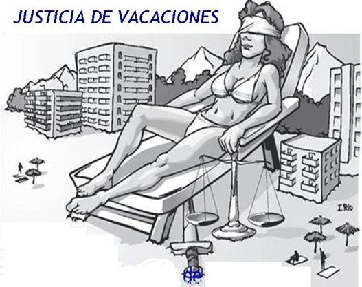 justicia DE vacaciones