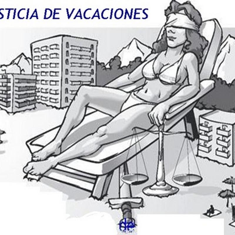Vacaciones en la Administración de Justicia