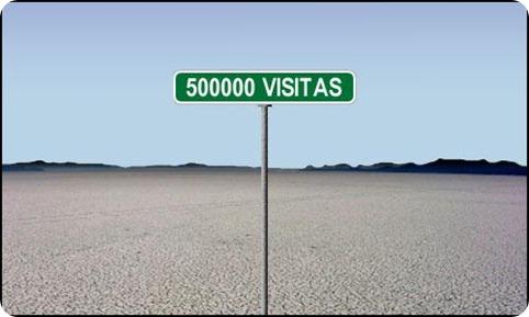 500000 visitas