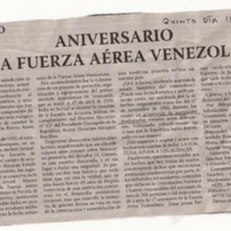 Ex-Día de la Fuerza Aérea Venezolana