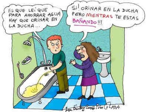 pipi bañera