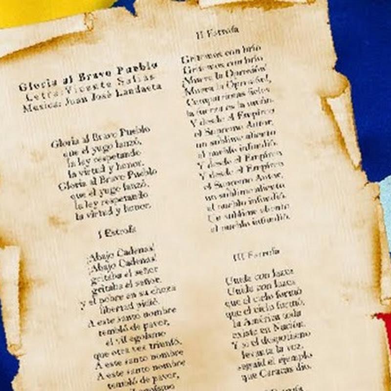 Día del Himno Nacional Venezolano