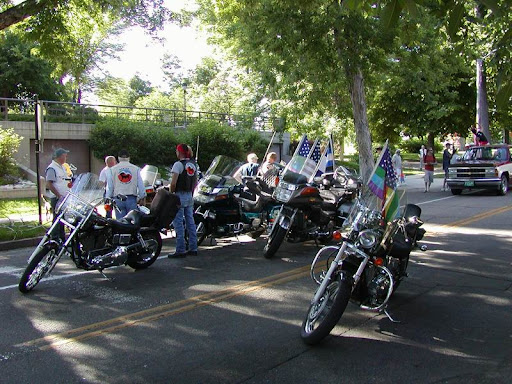 Denver Gay Pride Parade. The RMMC lead the Gay Pride Parade ? we were joined ...