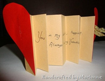 Accorion Heart Card