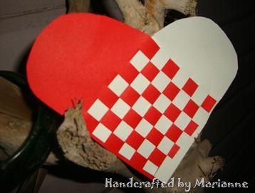 Weaved heart