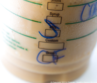how to make blended coffee like starbucks