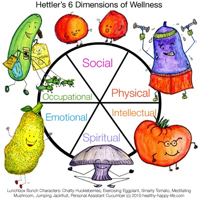 six dimensions of health essay Now that you understand whole-person wellness and the six dimensions of wellness, we encourage you to complete several activities to help you achieve whole-person wellness activity 1: wellness wheel this activity assesses the wellness dimensions in which you have strengths and the dimensions that will benefit from your attention.
