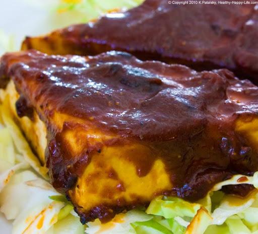 tofu grilled tofu has a black charred flavor that