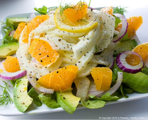 Fennel Arugula Citrus Salad. Gourmet Taste for Less!