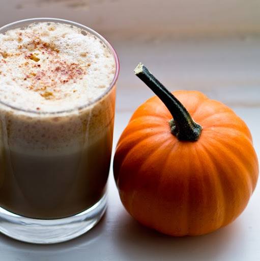 Pumpkin Spice Latte. Vegan. Cozy. Not a la Starbucks.
