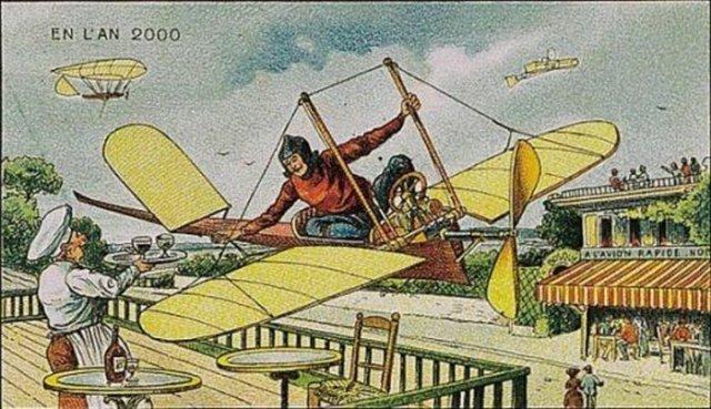 diaforetiko.gr :  Πως φαντάζονταν το 2000 οι άνθρωποι του 1910;;;