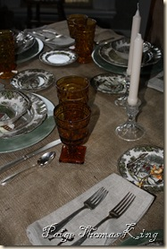 dinner table settings 009