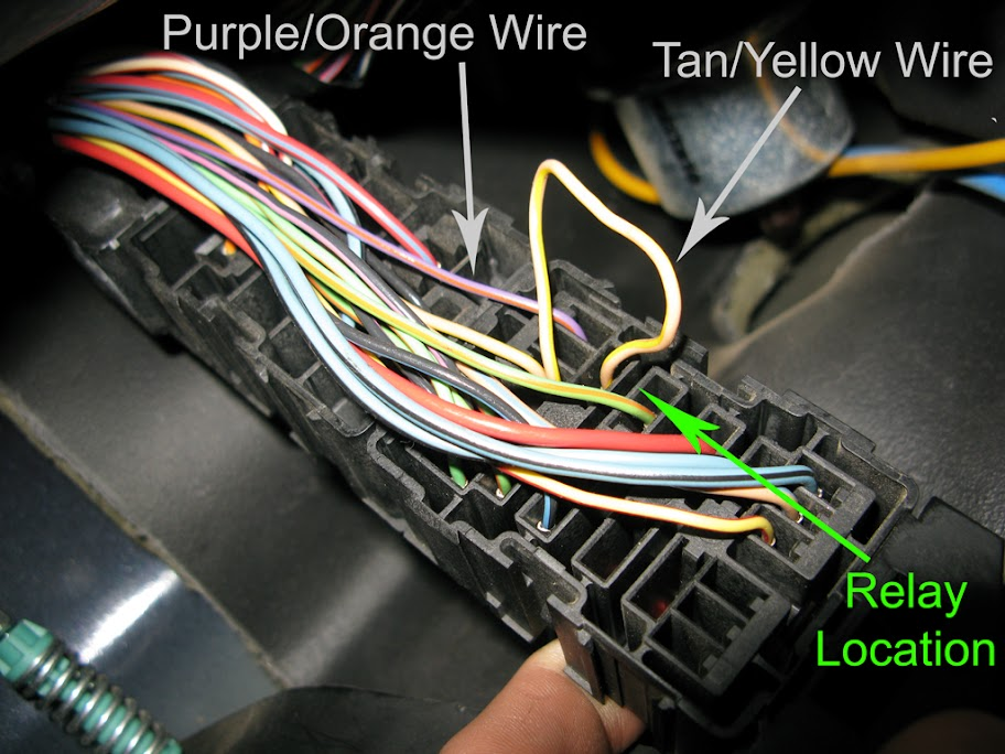 l v k weird electrical issues ford truck the back wiring labeled