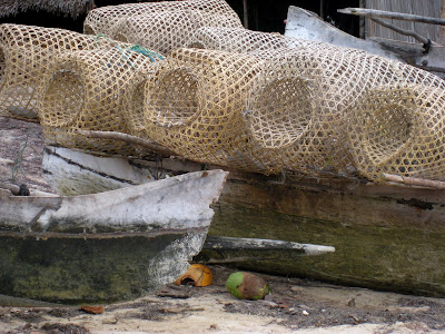 Fishing nets in Nosy Be