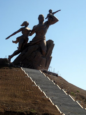 Statue in Dakar Senegal