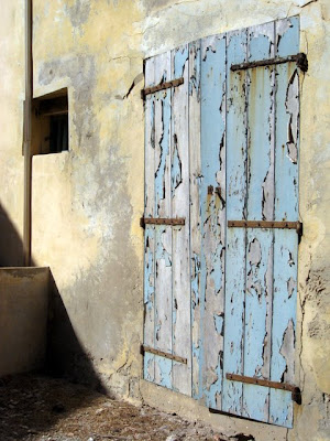 Door on the Ile de Goree in Senegal