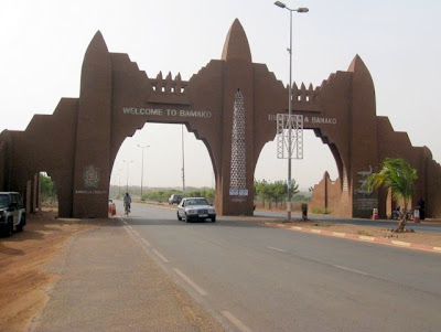 Welcome to Bamako sign in Mali