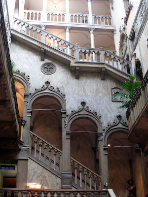 Interior of Hotel Danieli in Venice