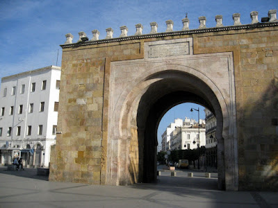 Triumphal arch in Tunis