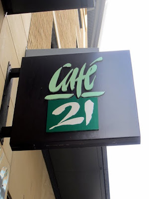 Cafe 21 in in Newcastle England