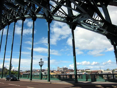 Bridge over the Tyne in Newcastle England