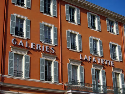Galeries Lafayette in Nice France