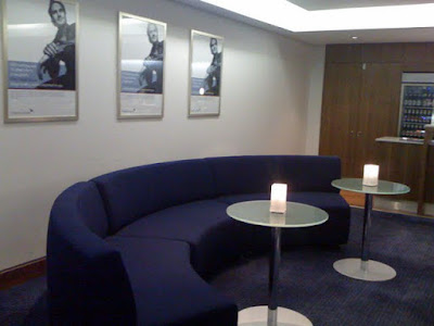 Corporate suite at the O2 in London