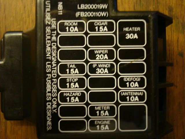 fuse panel mx 5 miata forum rh forum miata net 90 miata fuse box diagram 93 Miata Fuse Box Diagram
