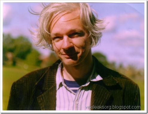 Основатель WikiLeaks (Викиликс) Джулиан Ассандж
