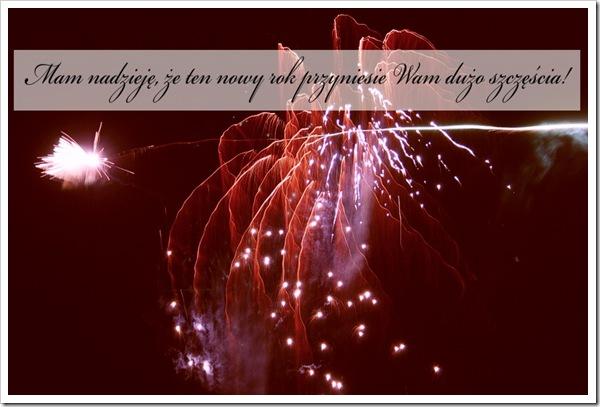 nowy rok zyczenia