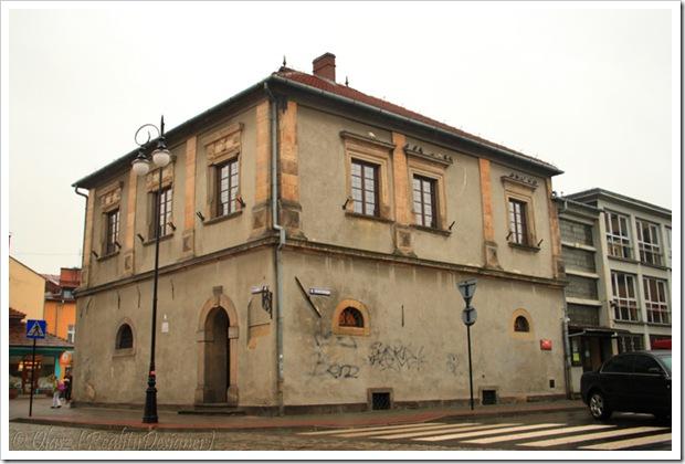 Nowy Sącz, dawna rezydencja Lubomirskich, a obecnie Sądecka Biblioteka Publiczna im. J. Szujskiego