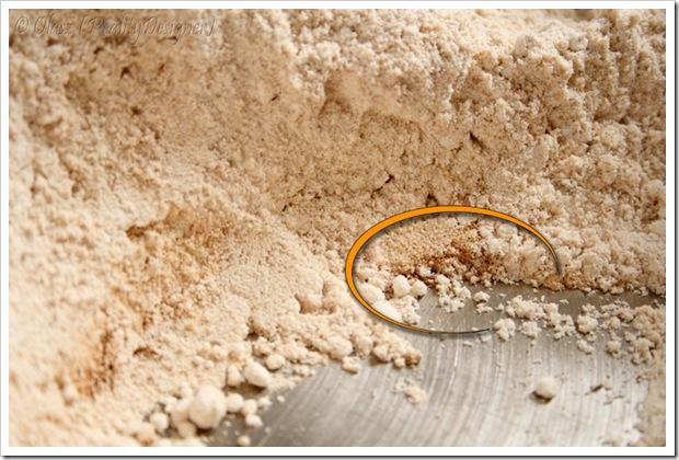 piernik wileński - prażenie mąki żytniej