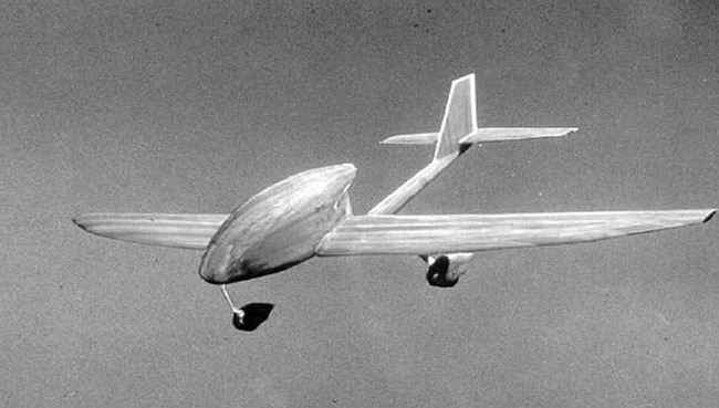A wind tunnel model of an aircraft that used for validating technologies & gaining understanding. It has a name