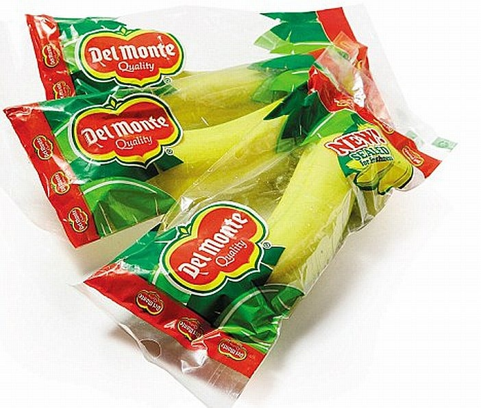 Del Monte to sell packaged bananas as a natural energy bar