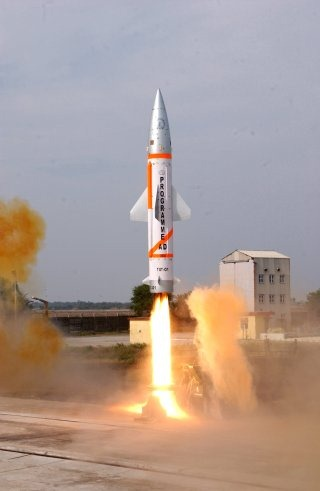 Nulear-capable Prithvi Short Range Ballistic Missile Wallpaper