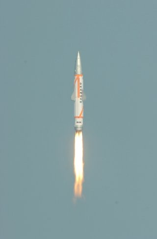 Sea-launched Nulear-capable Dhanush Short Range Ballistic Missile Wallpaper