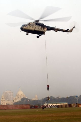 Indian Air Force Helicopter Wallpaper [Russian Mil Mi-17]