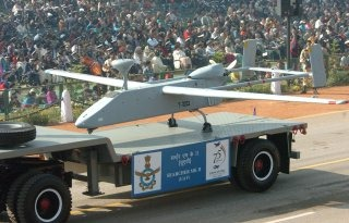 Indian Armed Forces Unmanned Aerial Vehicle [UAV] (Searcher Mk II)
