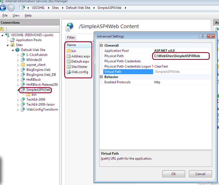 Deployed Web in IIS