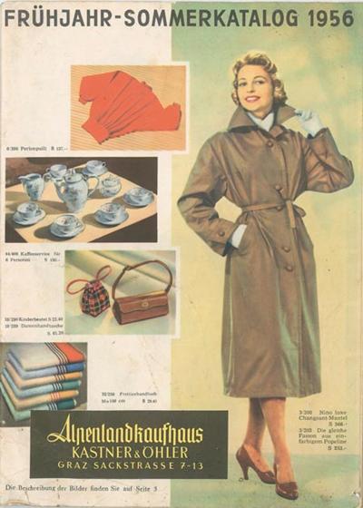 Kastner & Öhler Mail order catalogue Spring/ summer 1956