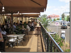 terrace at Artcaffe
