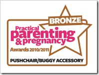 Pushchair accessory bronze