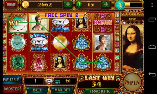 Davinci Diamonds Mobile Free Slot Game - IOS / Android Version