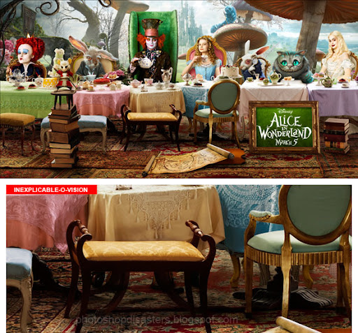 Alice In Wonderland PSD