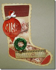 Day Twelve Christmas Stocking Blog